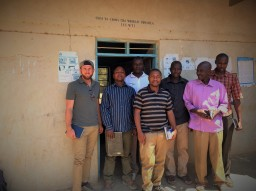 Members of the Pastoralist Association outside their office